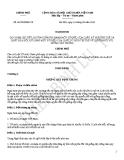 Nghị định số 88/2010/NĐ-CP
