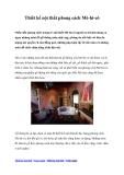 Thiết kế nội thất phong cách Mê-hi-cô