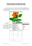 Kỹ thuật sử dụng clone stamp tool trong extrusion để tạo ra một nhánh hoa hồng p1