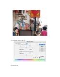 Quá trình hình thành giáo trình hướng dẫn tạo ra một hiệu ứng đổ màu sáng từ path selection tool và gradient tool p9