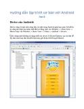 Hướng dẫn lập trình cơ bản và nâng cao với Android 3