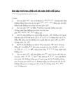 Bài tập hình học (Một số bài toán biến đổi góc.)