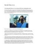 Ngăn ngừa chứng say tàu xe