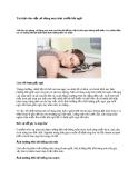 Tác hại của việc sử dụng máy tính trước khi ngủ