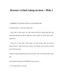 Hormon và thuốc kháng hormon – Phần 2