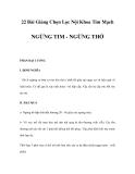 22 Bài Giảng Chọn Lọc Nội Khoa Tim Mạch - NGỪNG TIM - NGỪNG THỞ