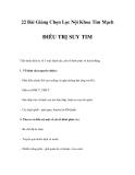 22 Bài Giảng Chọn Lọc Nội Khoa Tim Mạch - ĐIỀU TRỊ SUY TIM