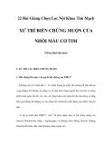 22 Bài Giảng Chọn Lọc Nội Khoa Tim Mạch - XỬ TRÍ BIẾN CHỨNG MUỘN CỦA NHỒI MÁU CƠ TIM