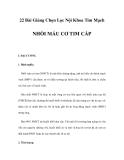 22 Bài Giảng Chọn Lọc Nội Khoa Tim Mạch - NHỒI MÁU CƠ TIM CẤP