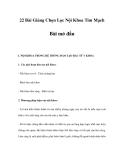 22 Bài Giảng Chọn Lọc Nội Khoa Tim Mạch - Bài mở đầu