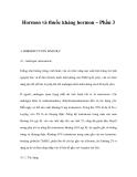 Hormon và thuốc kháng hormon – Phần 3