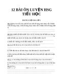 12 BÀI ÔN LUYỆN HSG  TIỂU HỌC_3