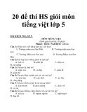 20 đề thi HS giỏi môn tiếng việt lớp 5_3