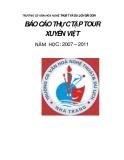 TRƯỜNG CĐ VĂN HÓA NGHỆ THUẬT VÀ DU LỊCH SÀI GÒN BÁO CÁO THỰC TẬP TOUR XUYÊN_4
