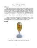 Giáo trình : Sản xuất bia part 1