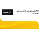 Tổng quan Microsoft Dynamics CRM