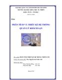 Đồ án: Phân tích và thiết kế hệ thống quản lý khách sạn