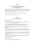 luật kinh doanh bảo hiểm số 24 - 2000