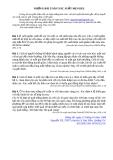 Những bài toán xác suất của Mendel