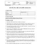 Bản mô tả công việc Giám đốc Marketing