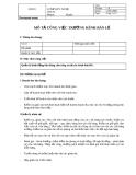 Bản mô tả công việc Trưởng kênh bán lẻ