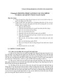 Chương 8. Phương pháp lập báo cáo Tài chính và báo cáo Quyết toán
