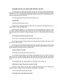 Kỹ thuật trình bày các thành phần thể thức văn bản