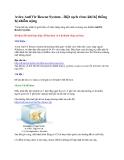 Avira AntiVir Rescue System - Diệt sạch virus khi ko vào được Windows