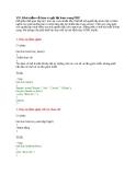 Khái niệm về hàm và gọi lại hàm trong PHP