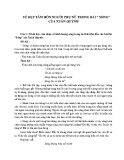 Cảm nhận về hình tượng sóng trong hai khổ thơ đầu bài thơ Sóng của Xuân Quỳnh
