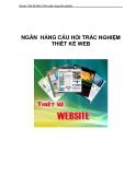 Bài tập Thiết Kế Web (NGÂN HÀNG CÂU HỎI TRẮC NGHIỆM  Ngôn Ngữ HTML
