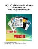 MỘT SỐ BÀI TẬP THIẾT KẾ WEB CĂN BẢN- HTML (khoa công nghệ thông tin)_3