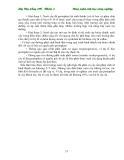 Giáo trình : Kỹ thuật nhân giống in vitro part 3