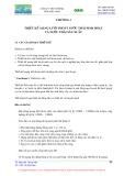 Giáo trình thiết kê hệ thống thoát nước : Thiết kế mạng lưới thoát nước thải sinh hoạt và nước thải sản xuất