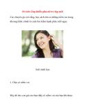 10 cách sống khiến phụ nữ trẻ đẹp mãi