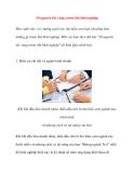 10 nguyên tắc vàng trước khi bắt đầu khởi nghiệp