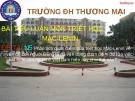 Báo cáo: Phân tích quan điểm của triết học Mac-Lênin về vấn đề con người  Đảng ta đã vận dụng quan điểm đó vào việc phát triển con người ở Việt nam hiện nay như thế nào?