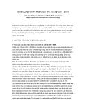 CHIẾN LƯỢC PHÁT TRIỂN KINH TẾ - XÃ HỘI 2001 - 2010