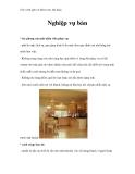 Giáo trình quản trị khách sạn, nhà hàng - Nghiệp vụ bàn