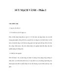 SUY MẠCH VÀNH – Phần 2