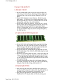 Chương 5 - Bộ nhớ RAM1