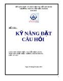 Bài kiểm tra cuối khóa môn Kỹ năng thuyết trình - Mã 03