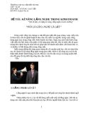 Bài kiểm tra cuối khóa môn Kỹ năng thuyết trình - Mã 04