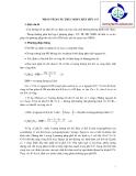 Giáo trinh : Phân tích cấu trúc hợp chất hữu cơ part 1