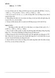Bài tập về Truyền động điện