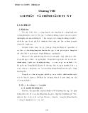 Giáo trình TÀI CHÍNH TIỀN TẾ - Chương 8