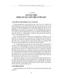 Bài giảng phân tích chương trình vật lý phổ thông - Chương 3