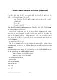 Di truyền thực vật - Chương 4: Những nguyên lý về di truyền các tính trạng