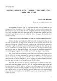 HỘI NHẬP KINH TẾ QUỐC TẾ VỚI PHÁT TRIỂN BỀN VỮNG VÀ ĐỘC LẬP TỰ CHỦ