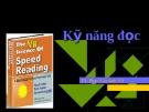 Tìm hiểu Kỹ năng đọc sách
